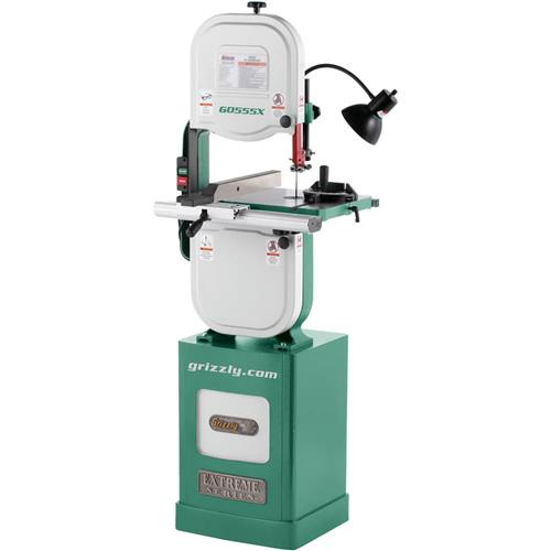 "Grizzly G0555X 14"" 1-1/2 HP Extreme Series Bandsaw"