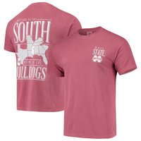 Mississippi State Bulldogs Comfort Colors Welcome to the South T-Shirt - Maroon
