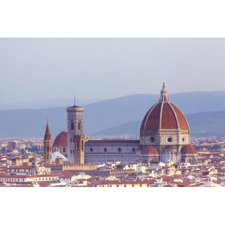 Italy, Tuscany, Florence. Overview of the City with Brunelleschi Cupola on the Duomo. Unesco. Print Wall Art By Ken Scicluna](Party City Florence)