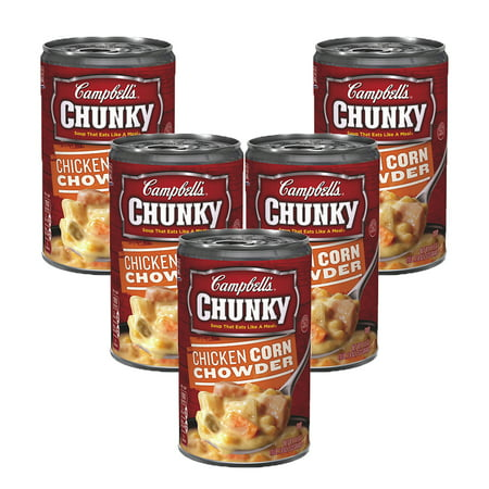 (5 Pack) Campbell's Chunky Chicken Corn Chowder Soup,à 18.8
