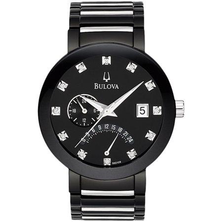 Bulova Men's Diamond Accented Bracelet Watch