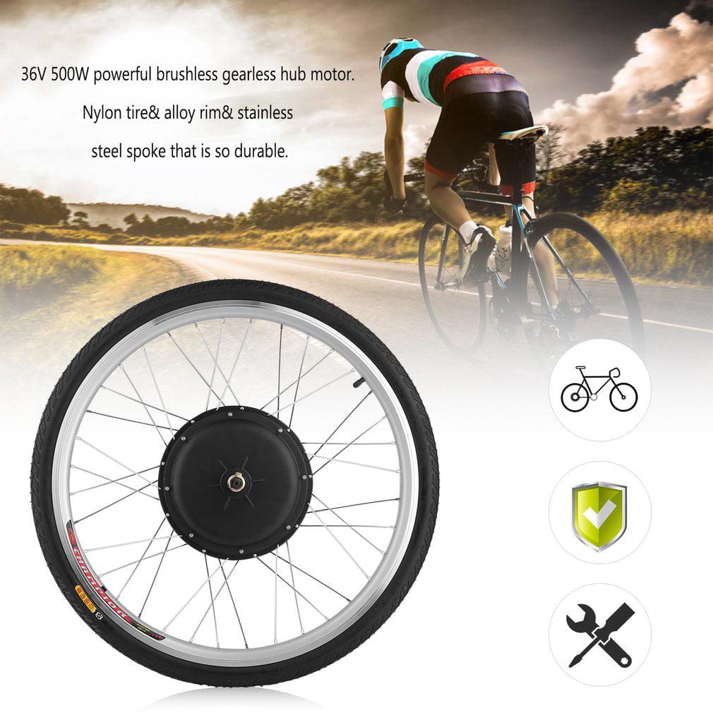 48V 1000W 26Inch Front Wheel Electric Bicycle E-Bike Moto...