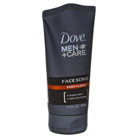 Men Liquid Face Wash - Dove Men+Care Deep Clean Plus Face Scrub 5 oz