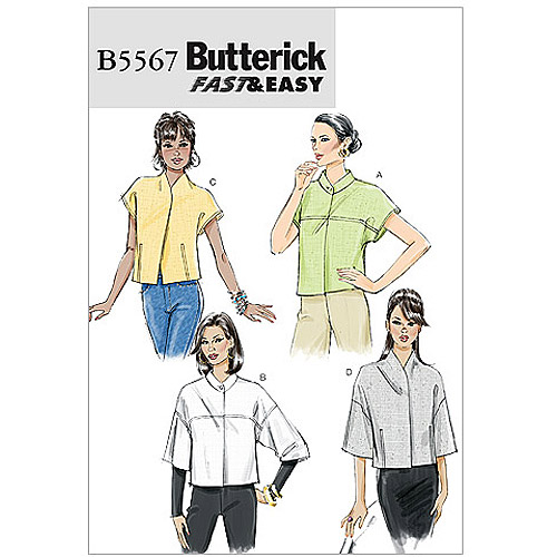 Butterick Pattern Misses' Jacket, BB (8, 10, 12, 14)