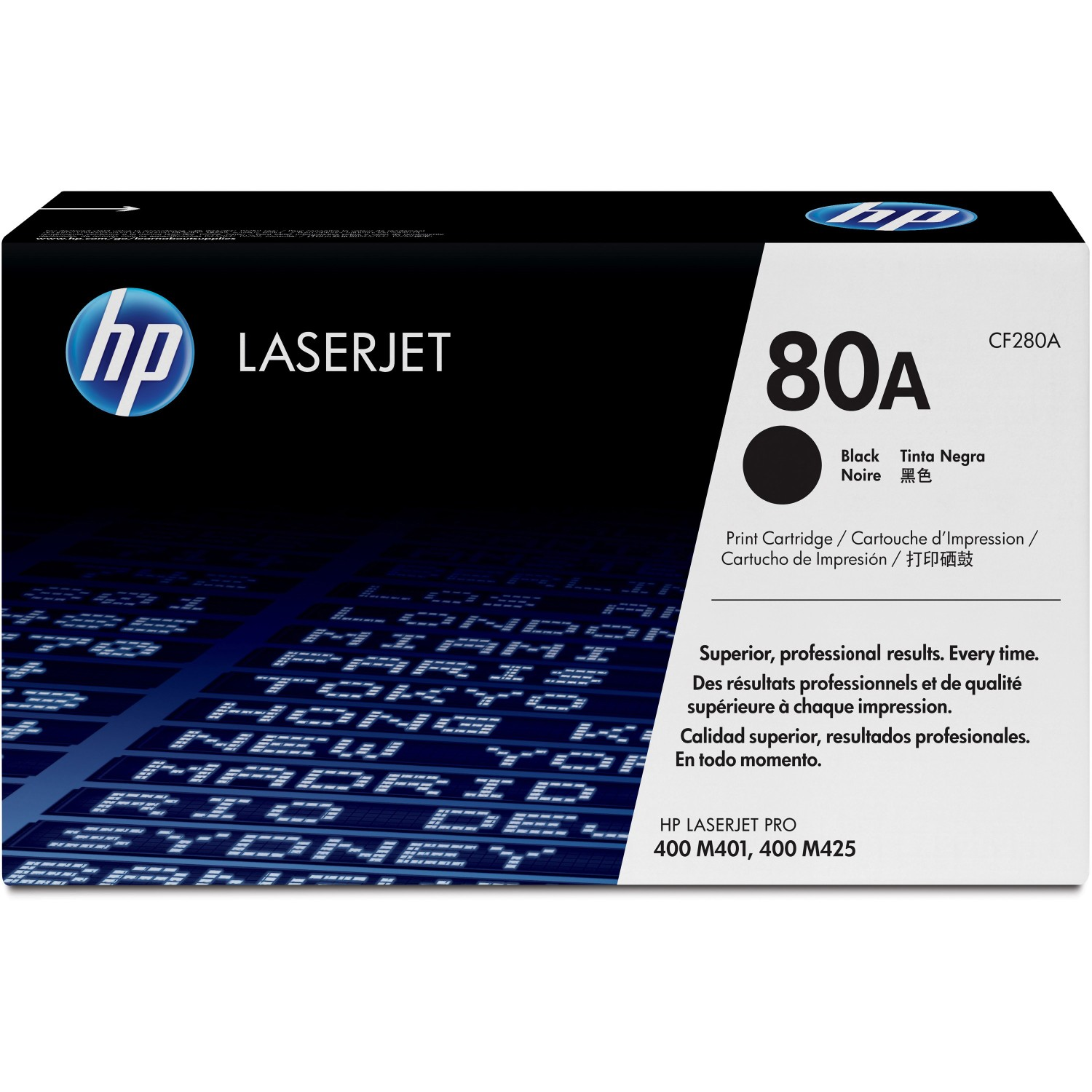 HP 80A (CF280A) Black Original LJ Toner Cartridge