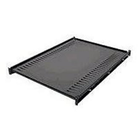 - APC AR8122BLK Gauge steel Rack Shelf - 1U - Black (Refurbished)