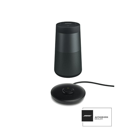 Bose SoundLink Revolve Black Bluetooth Speaker and Charge Cradle