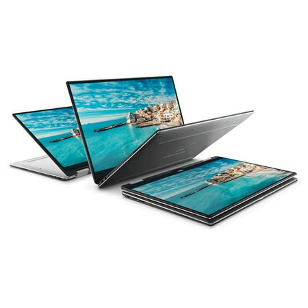 Refurbished 2017 Dell XPS 13 9365 13-inch 2-in-1 QHD+ (3200 x 1800) InfinityEdge Touch display 7th Gen Intel Core i7-7Y75 8GB Ram 512GB SSD Thunderbolt Win 10