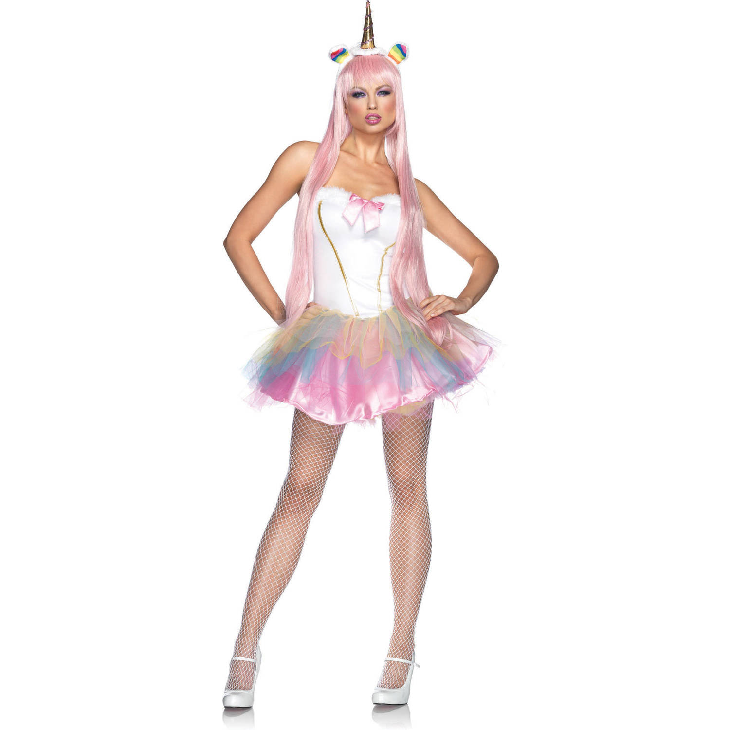 Leg Avenue Fantasy Unicorn Adult Halloween Costume  sc 1 st  Walmart : adult unicorn halloween costume  - Germanpascual.Com