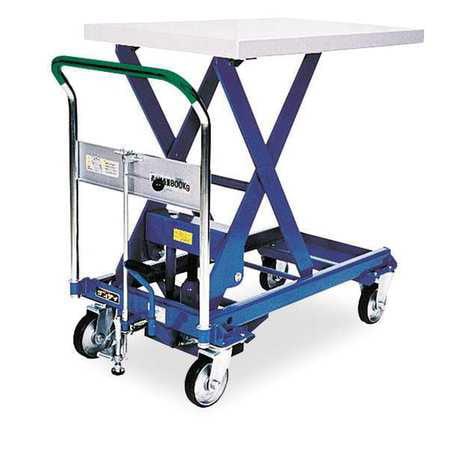 DANDY LIFT A-800 Scissor Lift Cart,1760 lb.,Steel,Fixed
