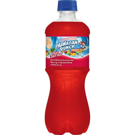 Hawaiian Punch Fruit Juicy Red Juice Drink, 20 Fl. (Ecs 20 50we Ww Fl 120 Fs1 Bl)