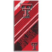 "Texas Tech Red Raiders 28"" x 58"" Striped Logo  Beach Towel"