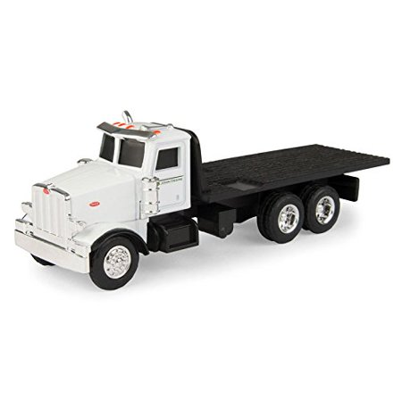 1/64 Collect N Peterbilt Flatbed Truck, 1/64 ERTL Collect N Peterbilt Flatbed Truck By
