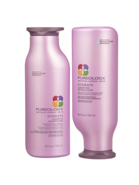 ($61 Value) Pureology Hydrate Shampoo And Conditioner Set, 8.5 Oz.