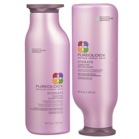 ($61 Value) Pureology Hydrate Shampoo And Conditioner Set, 8.5 Oz. ()