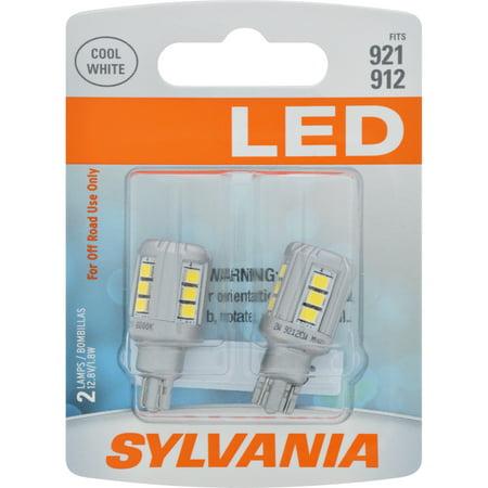 SYLVANIA 921 WHITE SYL LED Mini Bulb, Pack of 2 (921 Replacement Led Bulbs)