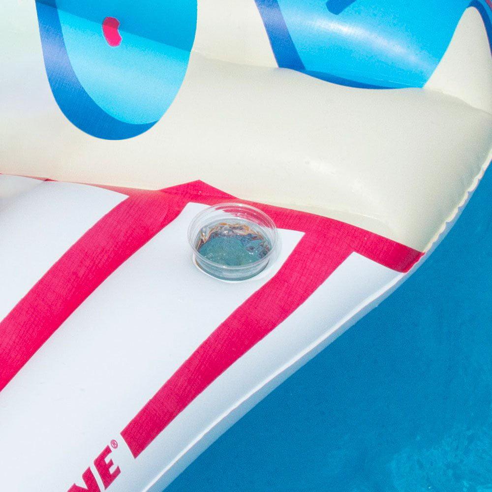 Swimline Inflatable Sprinkle Cupcake Ride On Swimming Pool or Lake Float Raft - image 4 of 5
