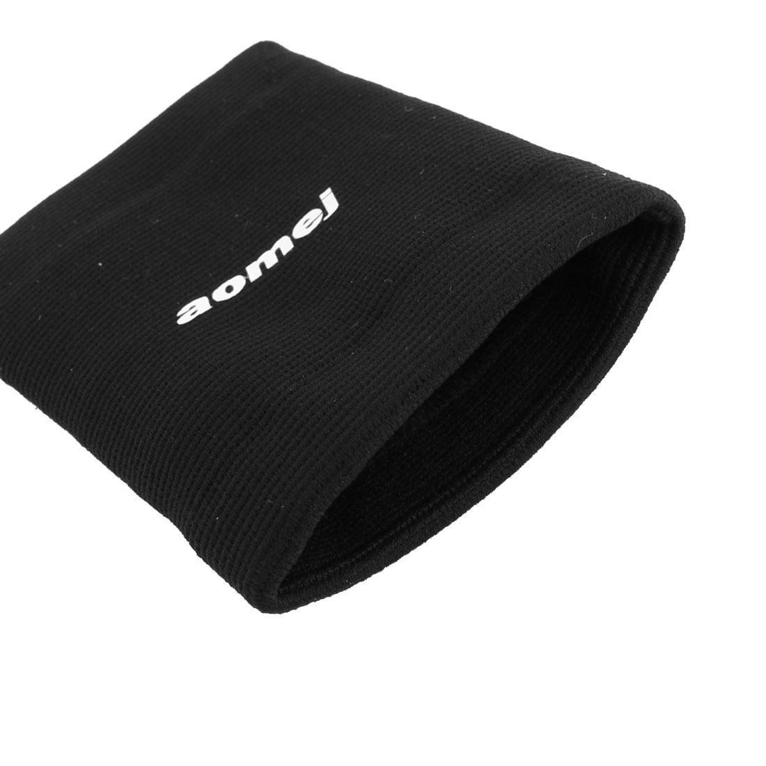 Household Outdoor Stretchy Bandage Brace Wrist Supporter Protector Black 2 PCS - image 2 of 3
