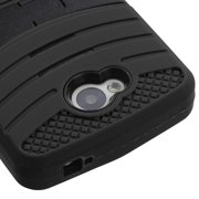 For LG Transpyre Hard Case +Rugged Silicone Case Cover w/Stand