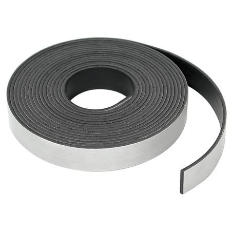 Magnetic Ribbon Strips - MASTER MAGNETICS 7518 Adhesive Mag Strip, 15 Ft. L, 1/2 In W