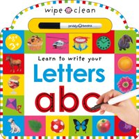 Wipe Clean: Learn to Write Your Letters ABC