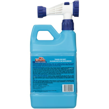 Mr Clean' Outdoor Cleaner 64 fl oz Jug Walmart