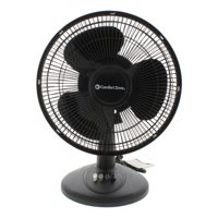 Comfort Zone 12'' Oscillating Table Fan
