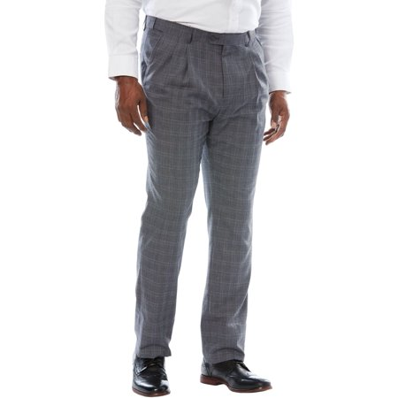 Ks Signature Men's Big & Tall Easy Movement Pleat-front Expandable Dress Pants