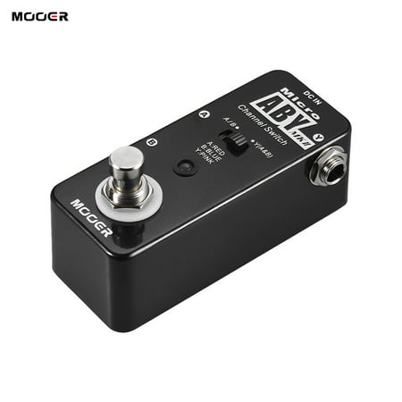 mooer aby mkii channel switch guitar effect pedal true bypass full metal shell. Black Bedroom Furniture Sets. Home Design Ideas