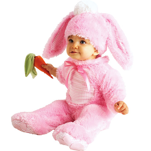 Pink Bunny Infant Costume - 6M