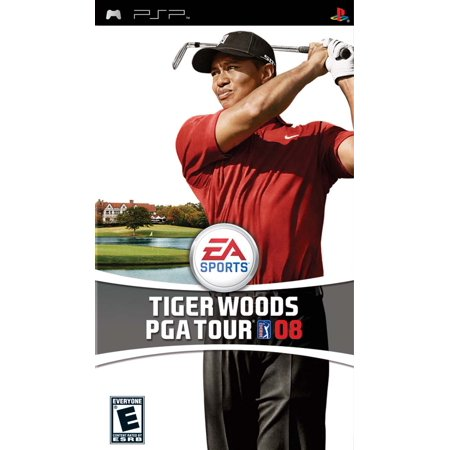 (Tiger Woods PGA Tour 2008 PSP)