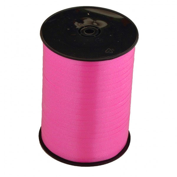 Curling Ribbon, Hot Pink, 100 yd, 1ct