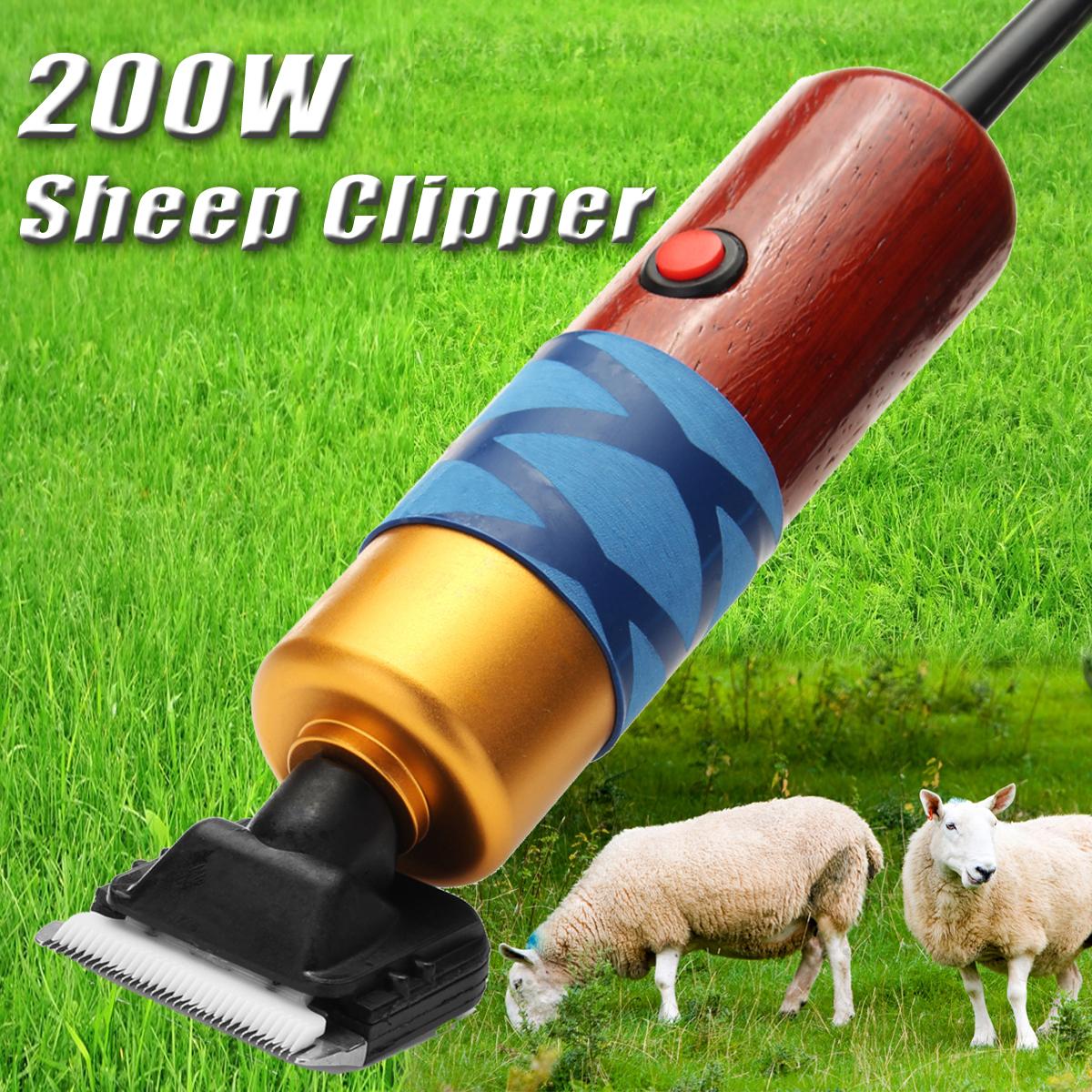 Electric Large Farm Sheep Supplies Goat Shears Animal Shearing Grooming Clipper