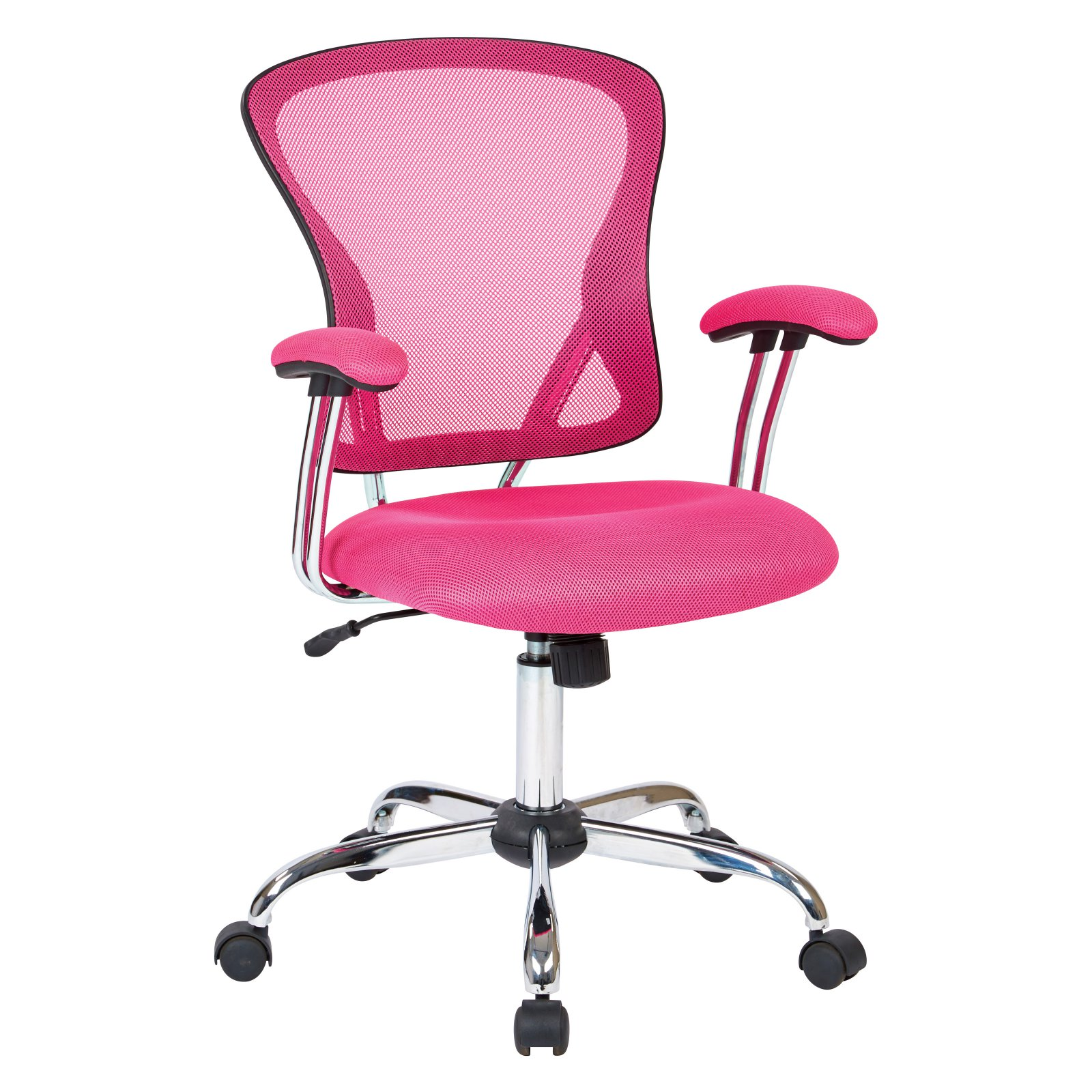 Juliana Task Chair, Pink Mesh