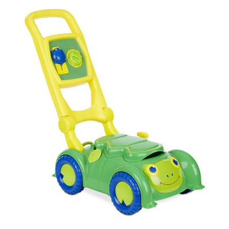 Melissa & Doug Sunny Patch Snappy Turtle Lawn Mower - Pretend Play Toy for Kids (Lawn Mower For Kids)