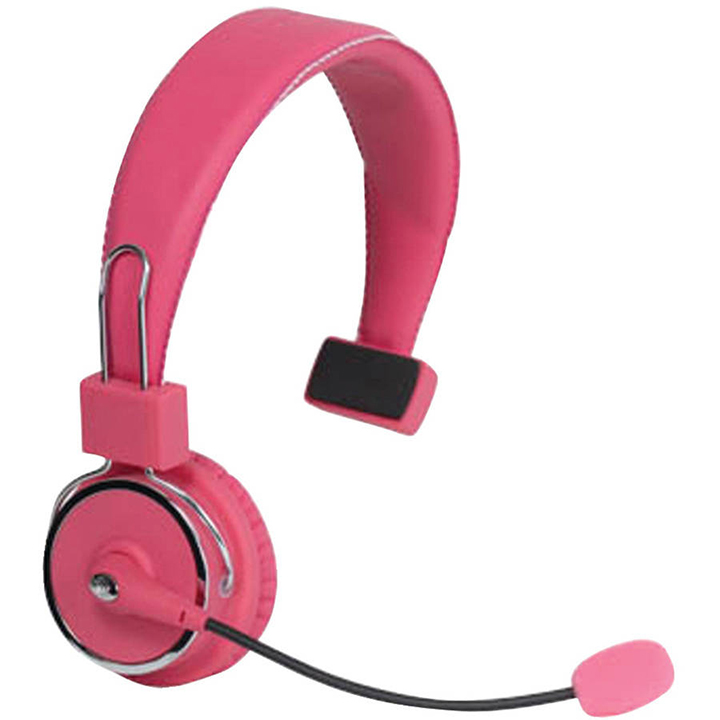 Blue Tiger 17-130391 Elite Premium Bluetooth Headset, Dark Pink