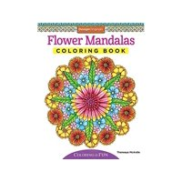 Design Originals Flower Mandalas Coloring Bk