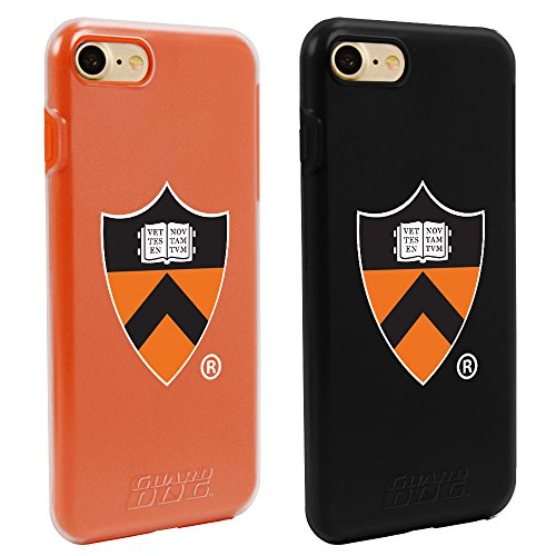 Princeton Tigers Fan Pack (2 Cases) for iPhone 7 8 by Guard Dog®