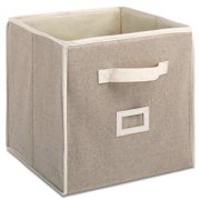 Whitmor 12' Collapsible Cube Natural