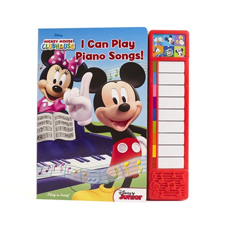 I Can Play Piano Songs (Board Book)