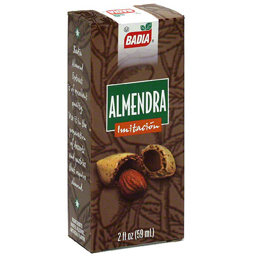 Badia Imitation Almond Extract, 2 oz (Pack of 12)