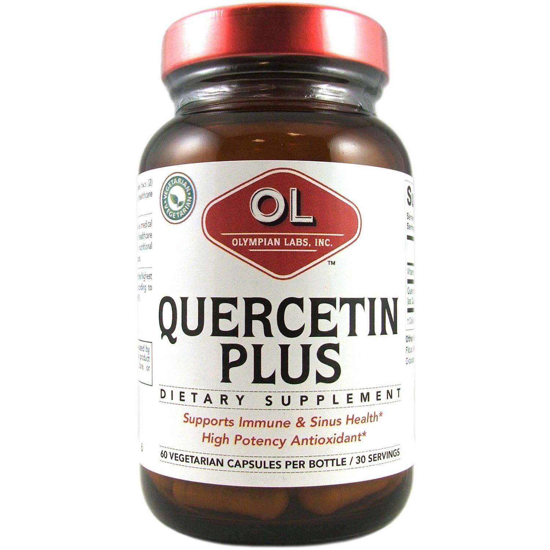 Olympian Labs-Quercetin Plus, 1g 60ct