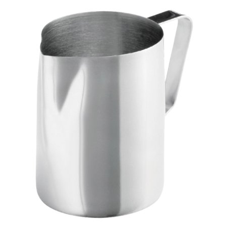 Frieling Steel Pitcher - Update International Stainless Steel Frothing Pitcher (20-ounce)
