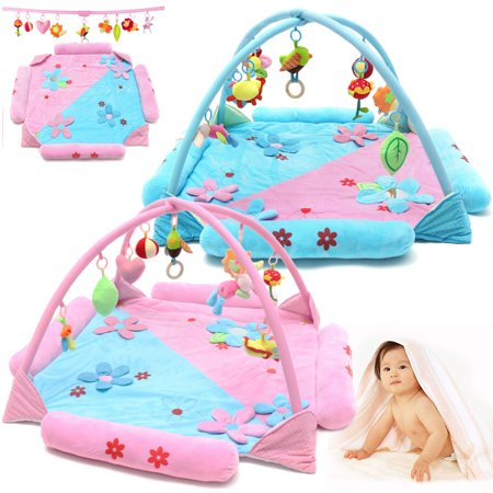 - Meigar Infant Baby Kids See Play Go Activity Gyms & Playmats Play Mat Crawling Tummy Time Soft Toddler Toy Gift