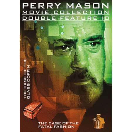 Perry Mason Double Feature: Case of The Glass Coffin / Fatal Fashion (DVD)