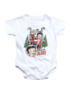 Betty Boop - I Want It All - Infant Snapsuit - 18 Month