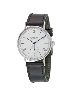 Nomos Ludwig 38 White Dial Black Leather Men's Watch 234
