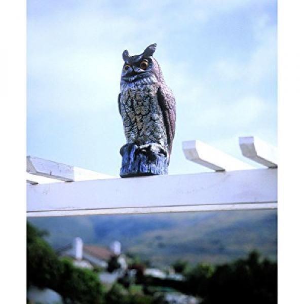 Great Horned Owl Garden Scarecrow