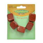 Expo Int'l Red Jasper Nugget Beads Pack of (Red Jasper Nugget Beads)