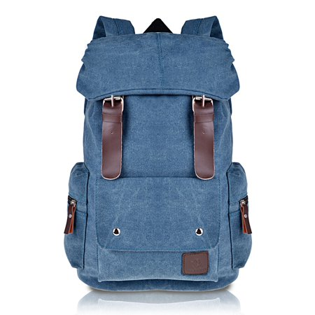 fc559494e8 Boys and Girls Canvas Casual Backpacks for Middle School College Book Bags